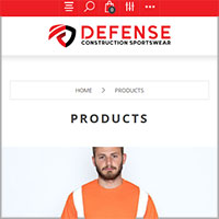 Defense Construction Sportswear