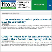 Travel Industry Council of Ontario Blog